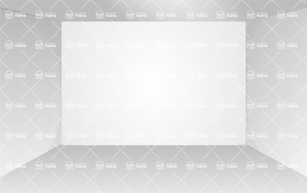 Room Backgrounds Vector Collection - Monochrome Vector White Room Background