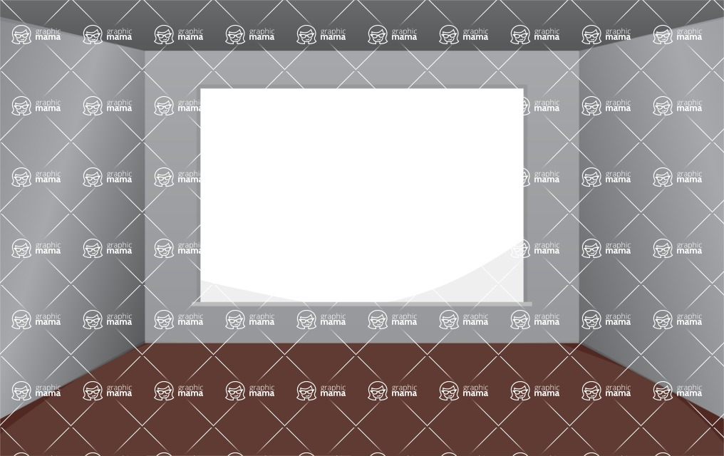 Room Backgrounds Vector Collection - Room for Presentations Vector Background