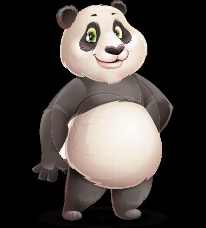 Cute Panda Character Animator Puppet