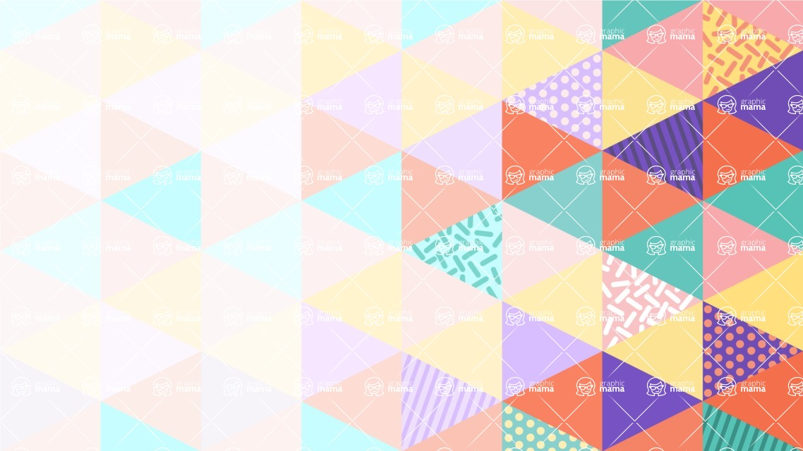 vector backgrounds - a rich collection (vector pack) of beautiful shapes and modern color palettes  - Modern Vector Background with Abstract Triangles