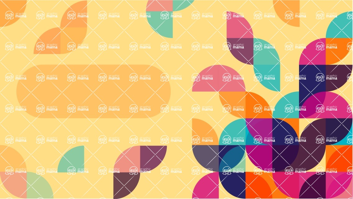 vector backgrounds - a rich collection (vector pack) of beautiful shapes and modern color palettes  - Simple Abstract Background