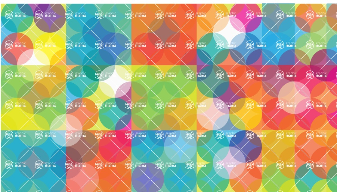 vector backgrounds - a rich collection (vector pack) of beautiful shapes and modern color palettes  - Vector Background with Vivid Colors
