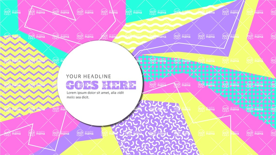 vector backgrounds - a rich collection (vector pack) of beautiful shapes and modern color palettes - Colorful Vector Background