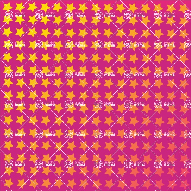 vector backgrounds - a rich collection (vector pack) of beautiful shapes and modern color palettes  - Vector Background with Stars