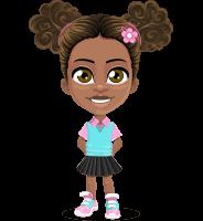 Anita the Playful Little Girl