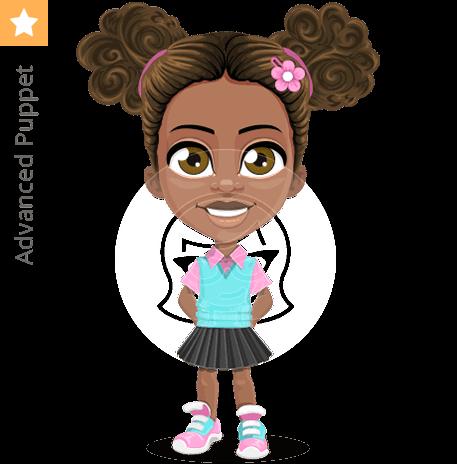 School Girl Character Animator Puppet