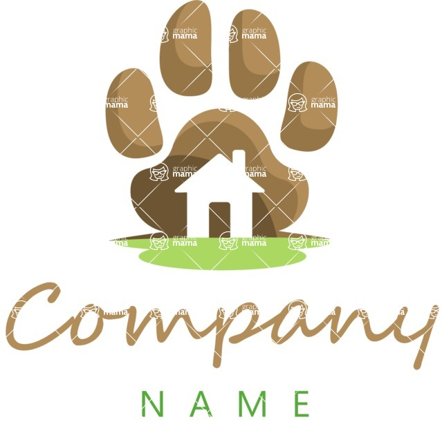 Business Logo Templates - vector graphics in a pack from GraphicMama - Colorful Veterinary Logo Design