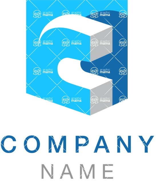 Business Logo Templates - vector graphics in a pack from GraphicMama - Creative Logotype Design Concept With Letter C
