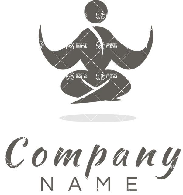 relax and meditation business logo design black and white logo templates mega bundle graphicmama logo templates mega bundle graphicmama