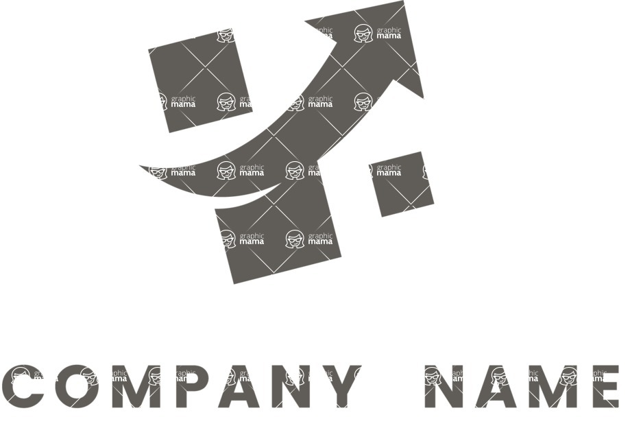 Business Logo Templates - vector graphics in a pack from GraphicMama - Simple Vector Consulting Company Logo Design