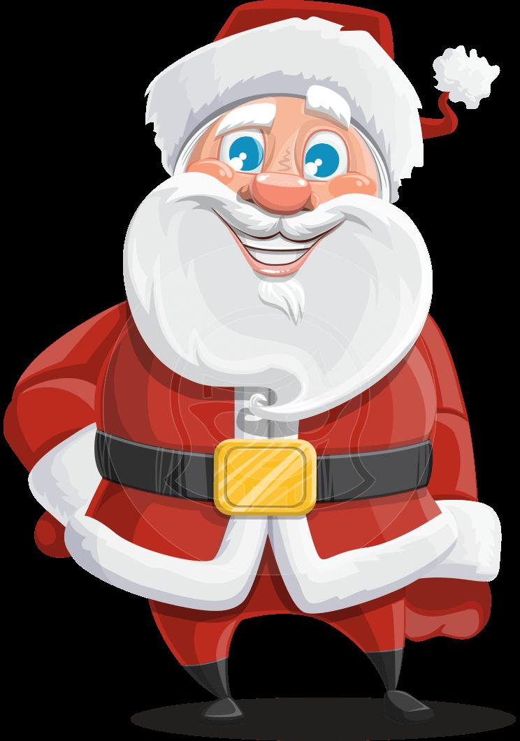 Santa Claus Cartoon Vector Character Illustrations Aka Mr Claus North Pole Graphicmama
