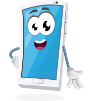 Mobile Phone Cartoon Vector Character AKA Ringo The Phone