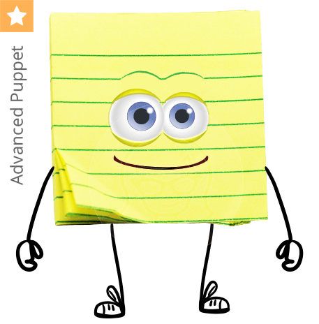 Sticky Notes Character Animator Puppet
