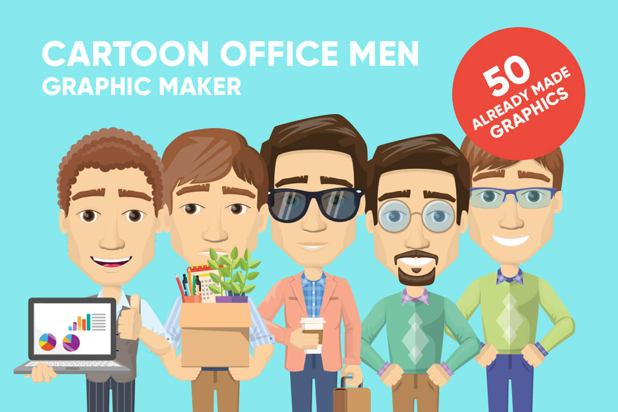 Male Cartoon Vector Creator