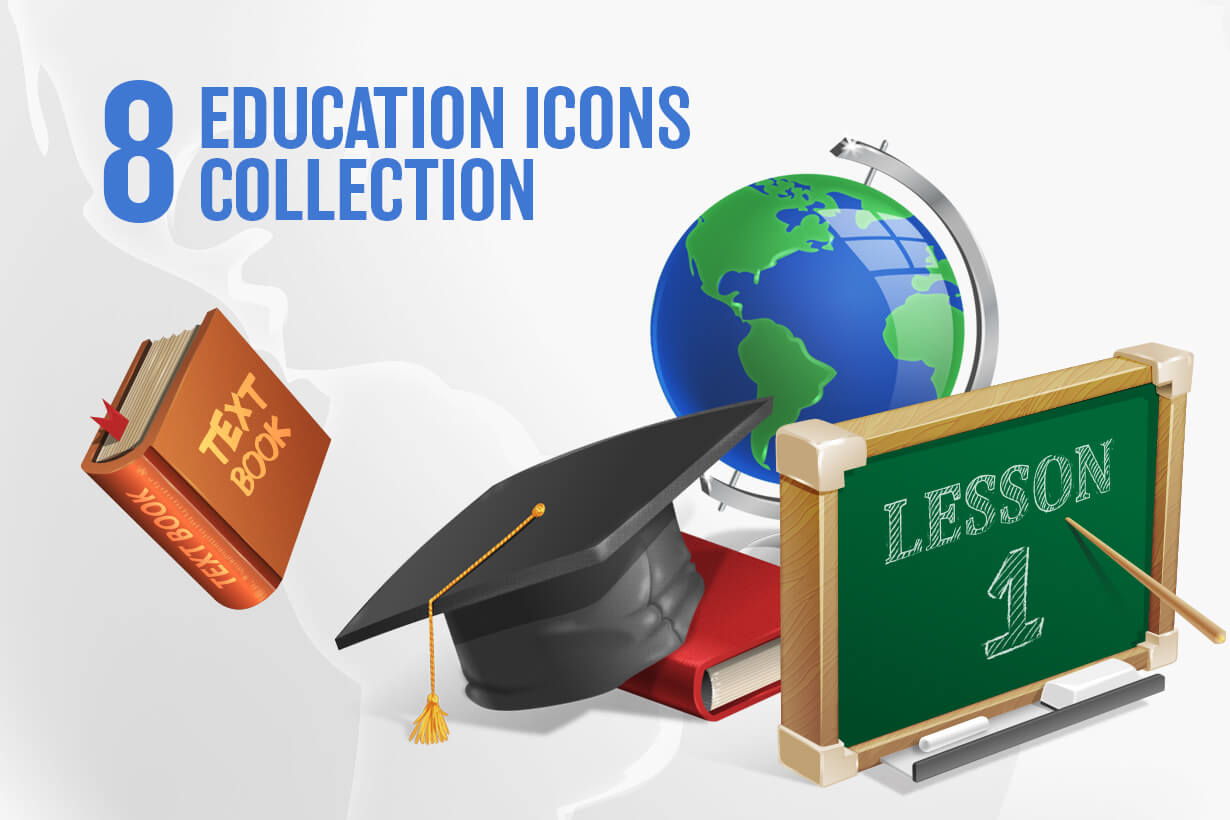 Free Education Icon Collection