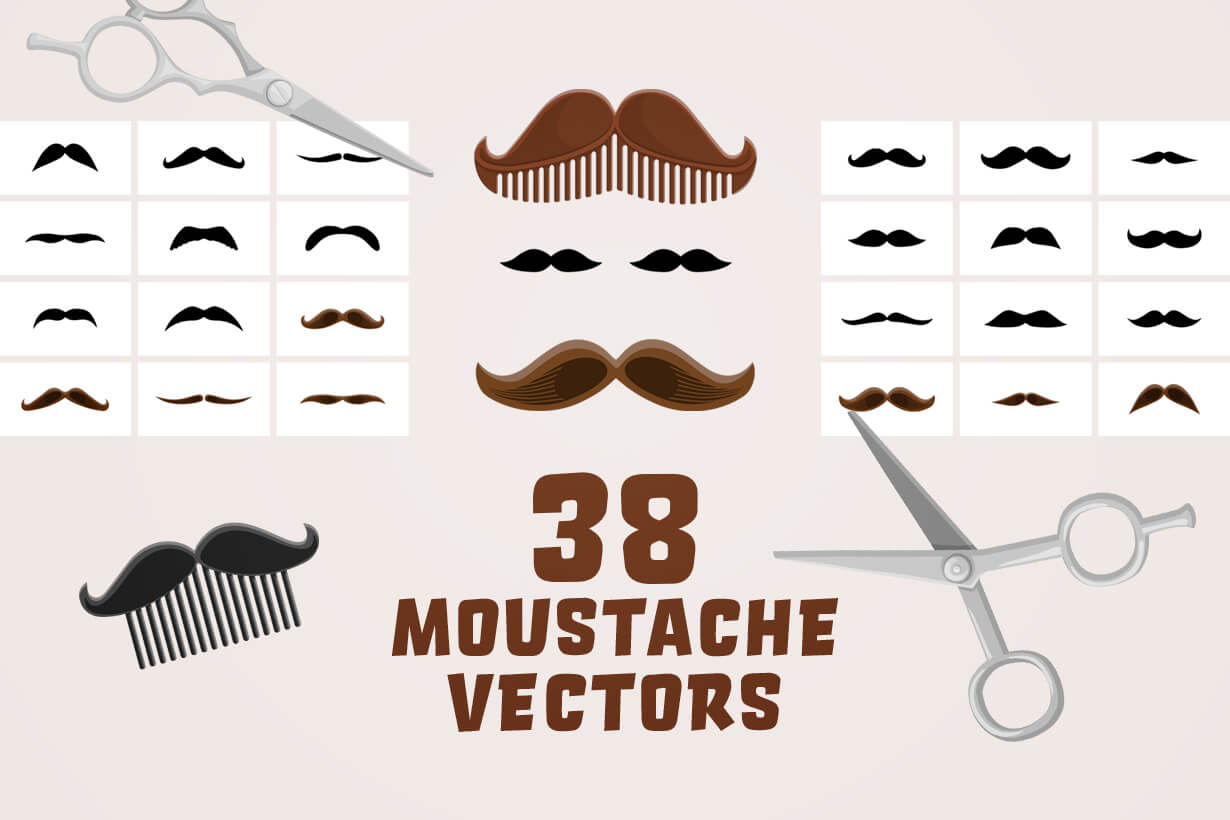 Mustache Vector Bundle