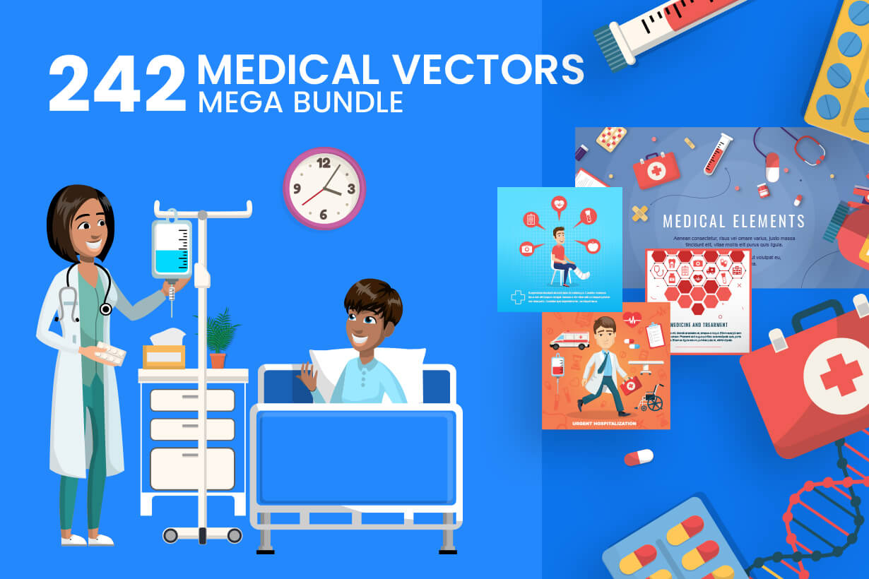 Medical Vectors - Mega bundle