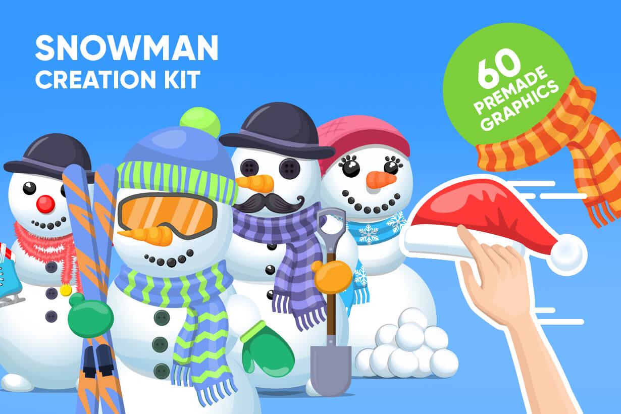 Snowman Graphic Maker