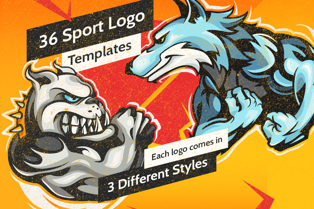 Sport Logo Templates - Mega Bundle