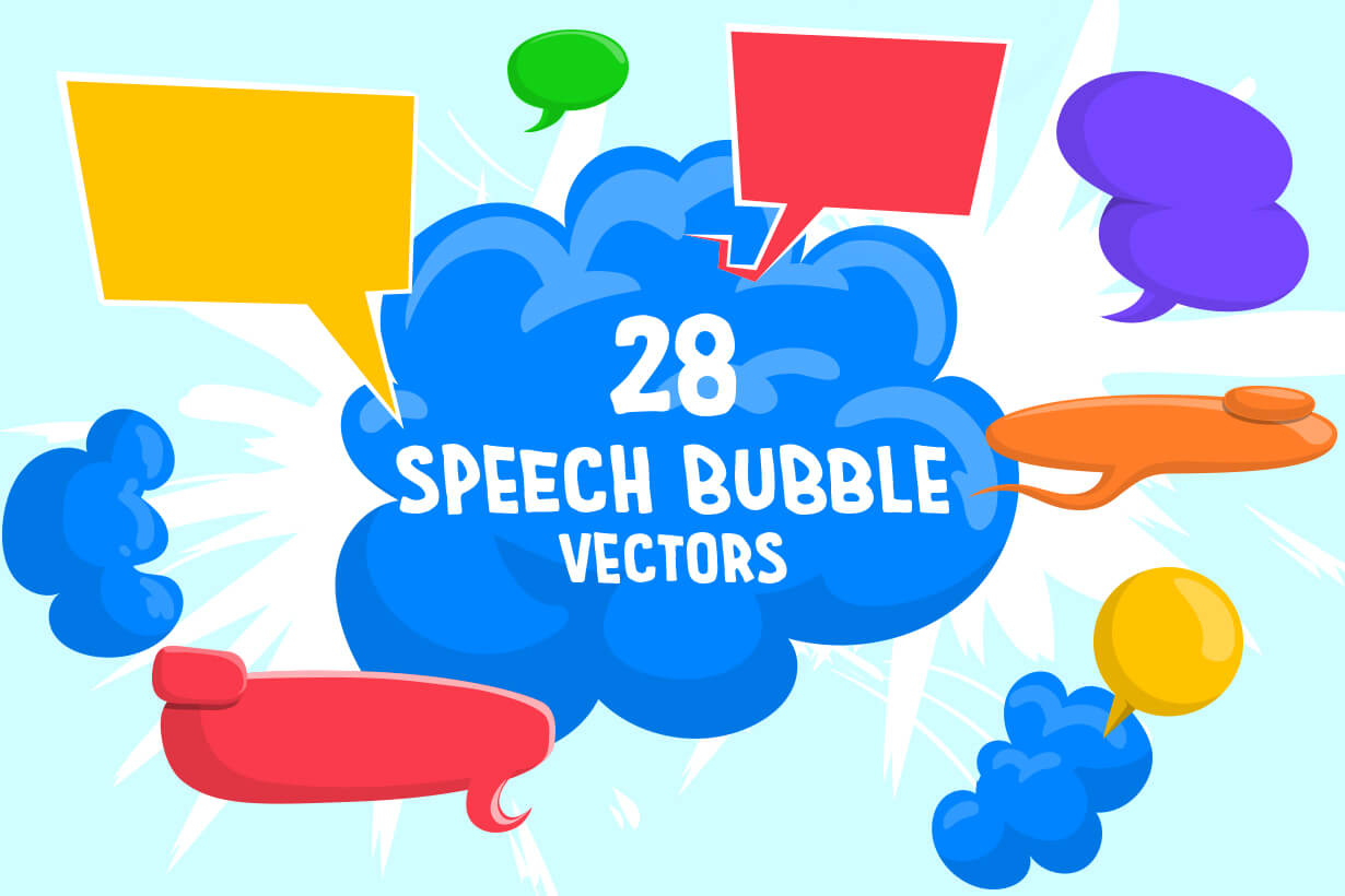 Speech Bubble Vector Bundle