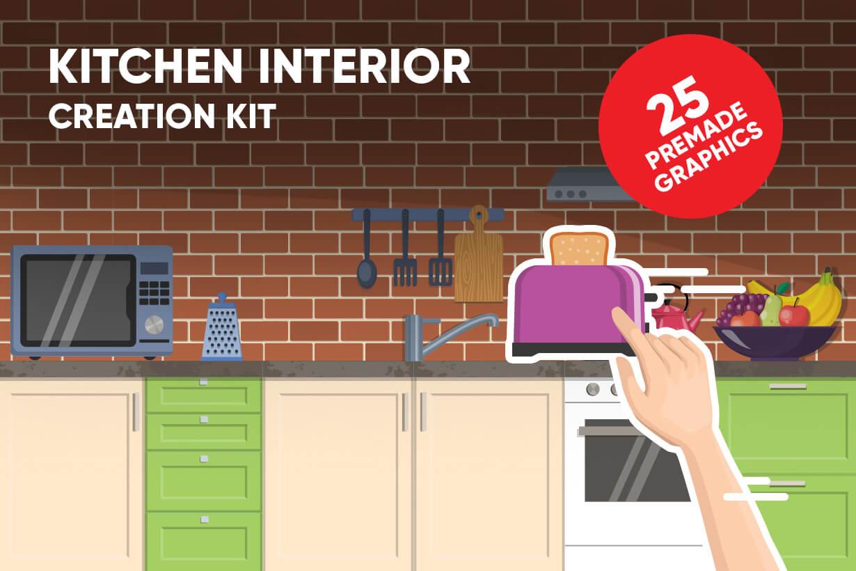 Kitchen Vector Graphic Maker
