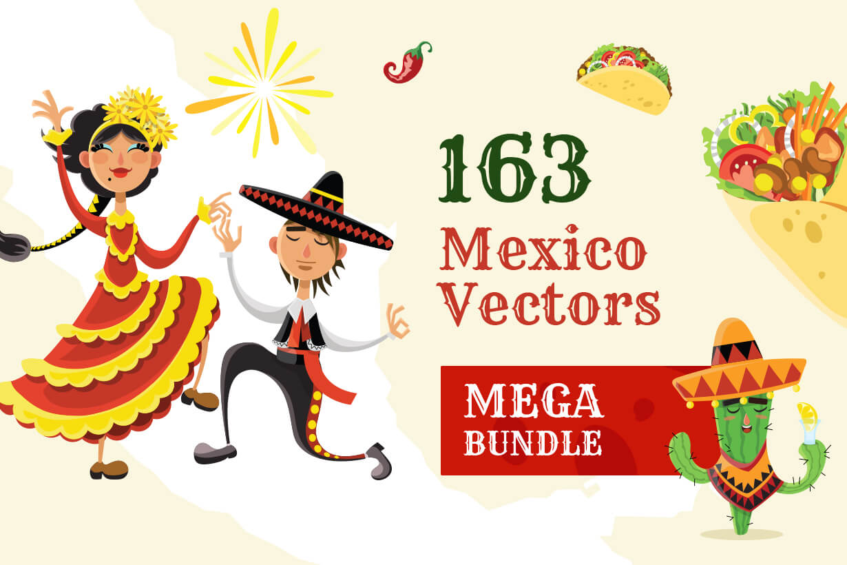Mexico Vectors - Mega Bundle