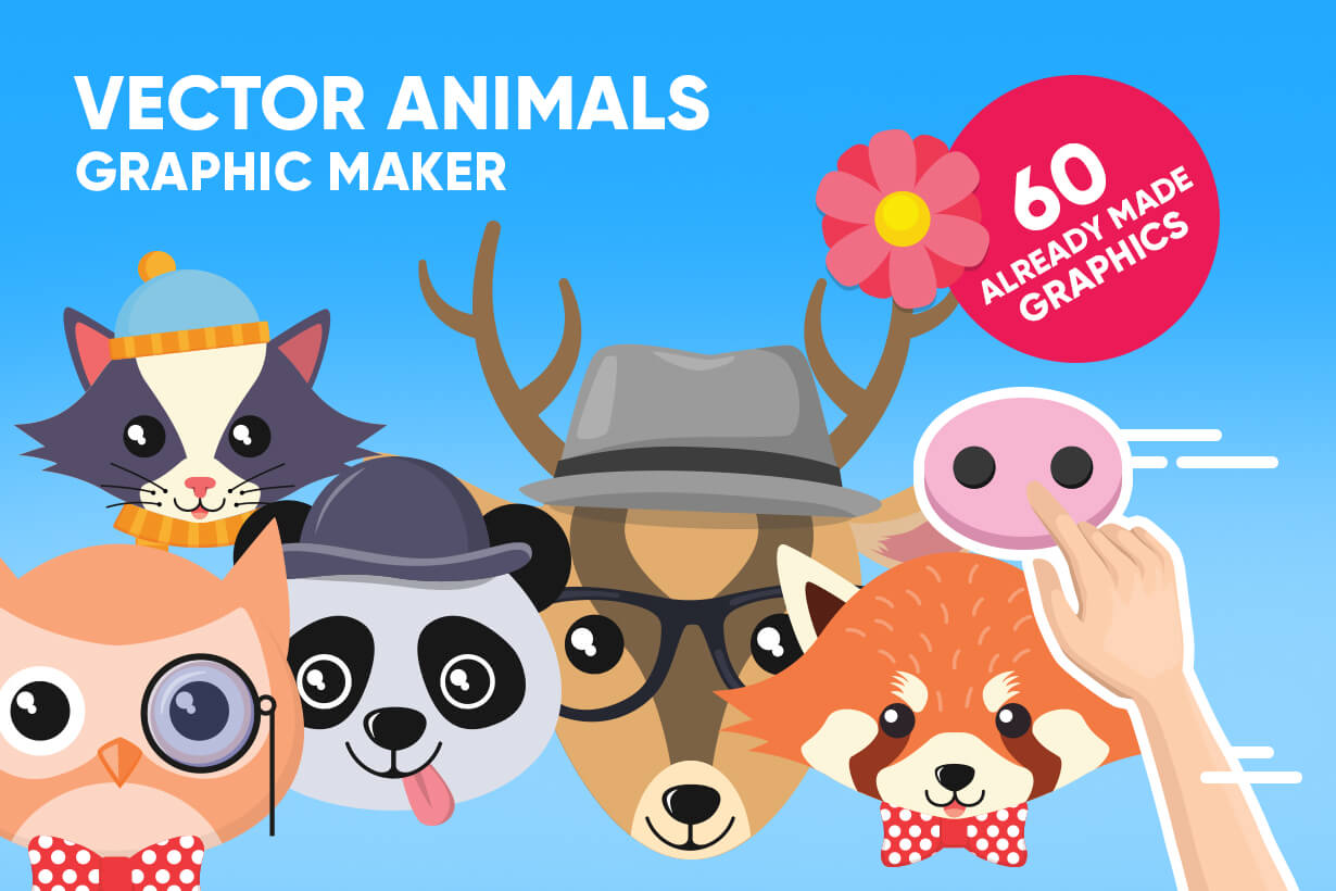 Animal Vector Graphic Maker