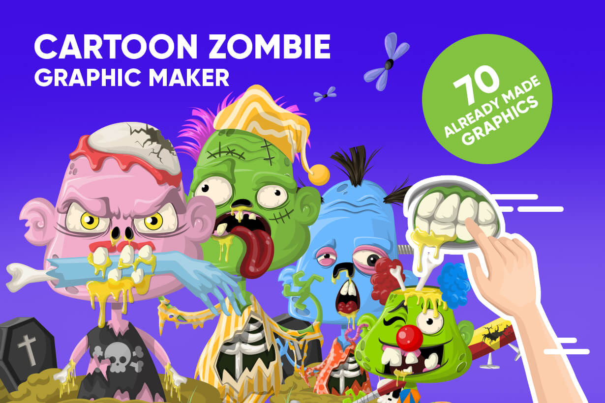 Zombie Vector Graphic Maker