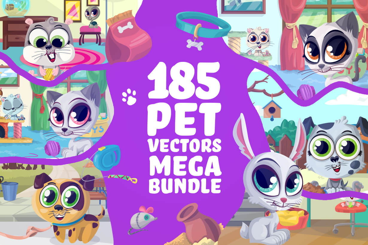 Pet Vectors - Mega Bundle