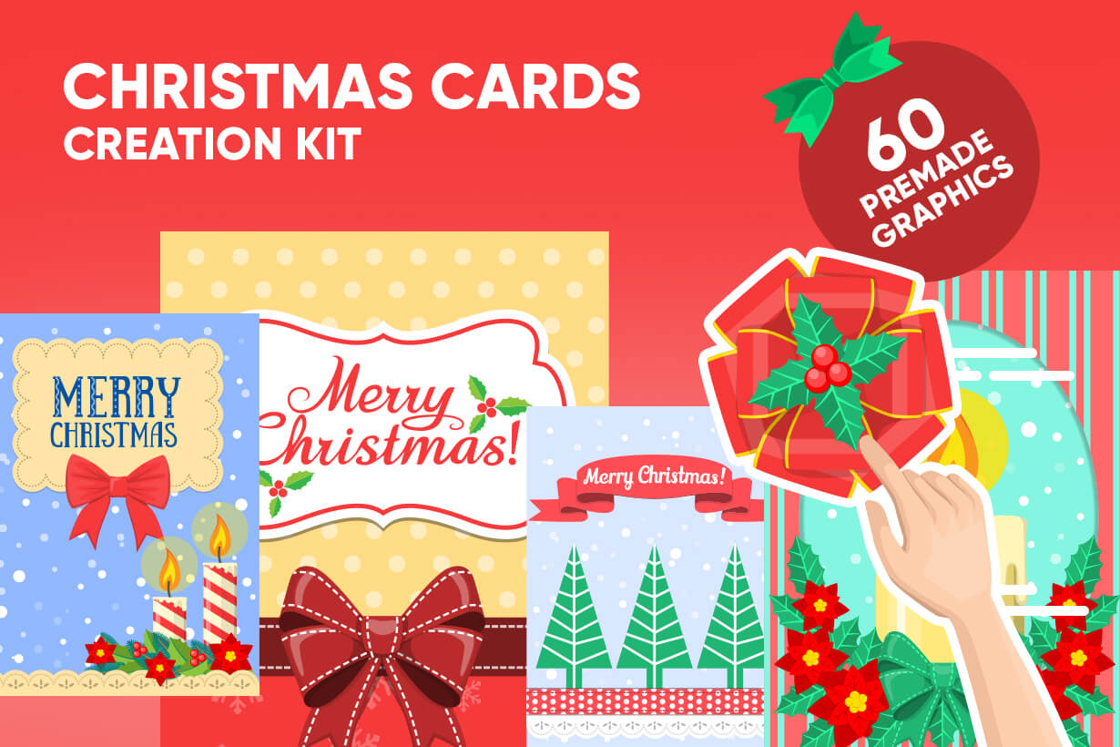 Christmas Card Vector Graphics Maker