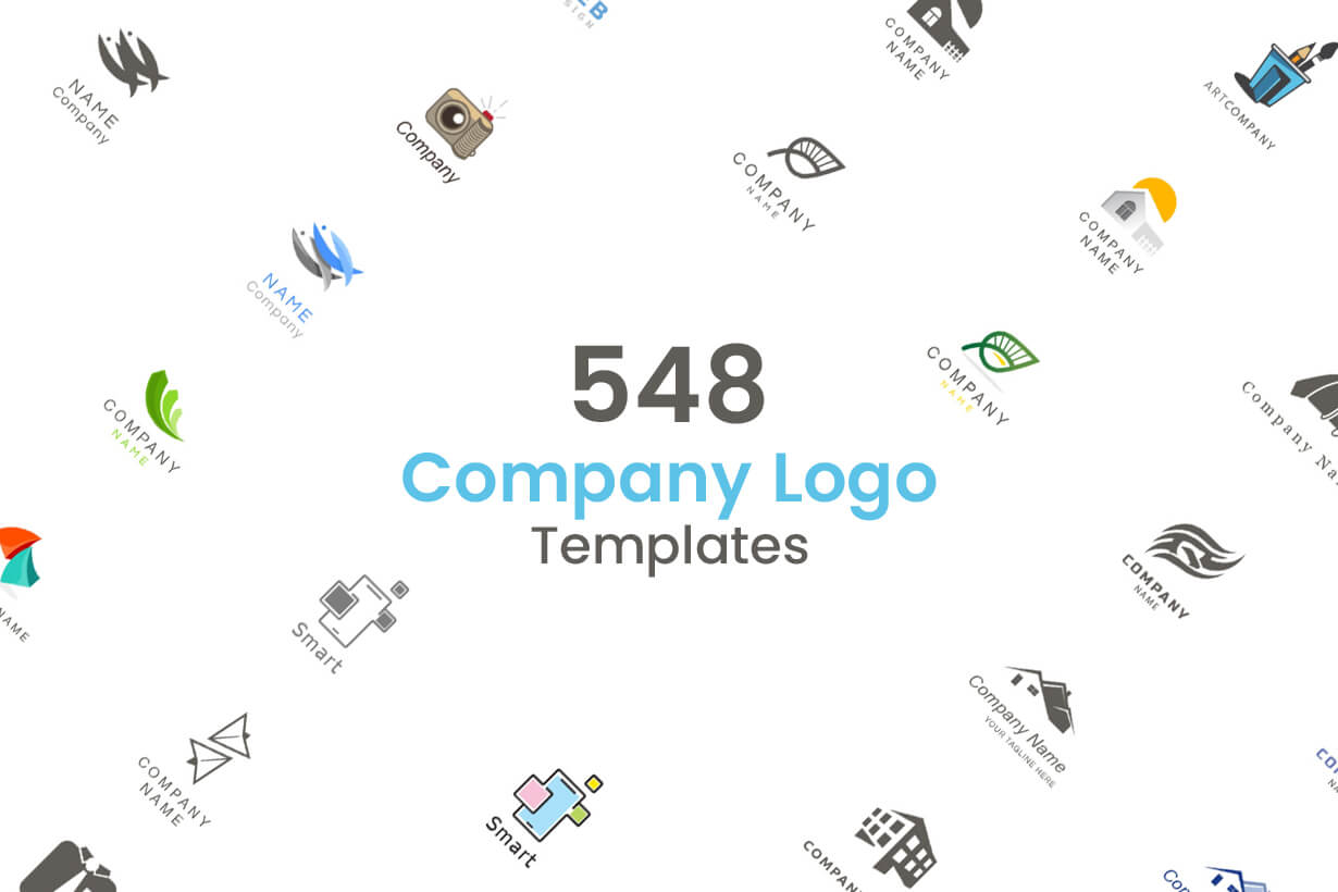 Business Logo Templates - vector graphics in a pack from GraphicMama