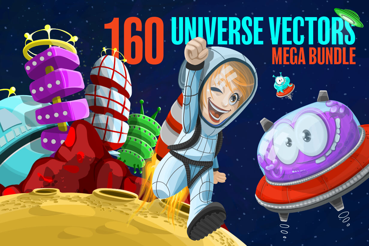Universe Vectors - Mega Bundle
