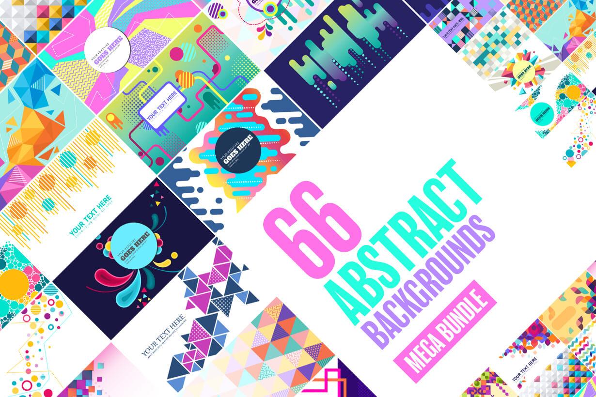 Abstract Backgrounds - Mega Bundle