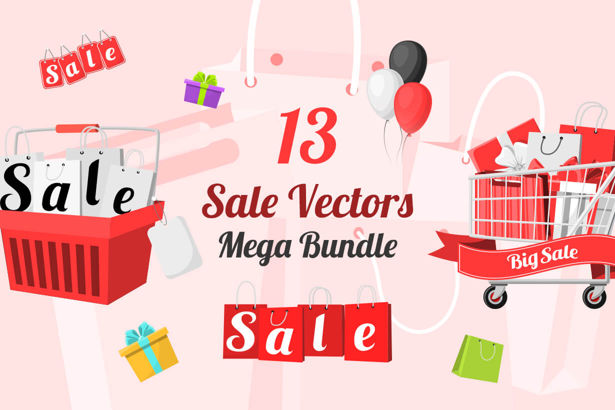 Sale Vectors - Mega Bundle
