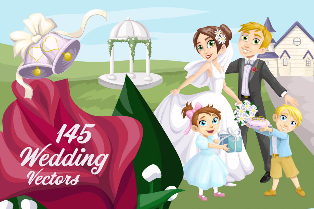 Wedding Vectors - Mega Bundle
