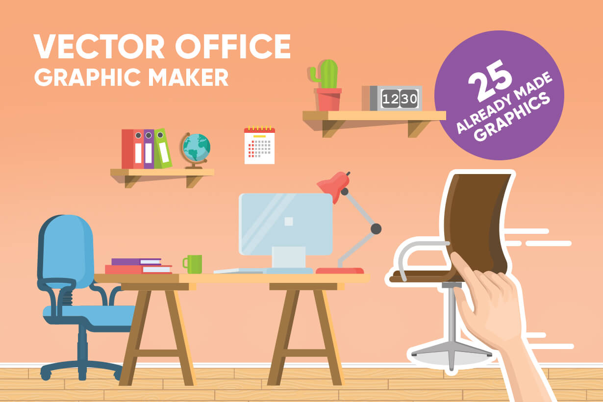 Office Vector Graphic Maker