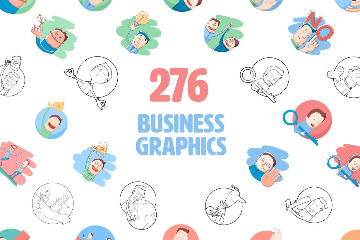 Vector Business Graphics - Mega Bundle
