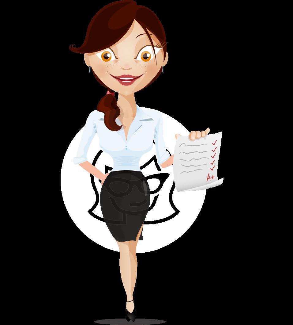 Teacher Cartoon Vector Character