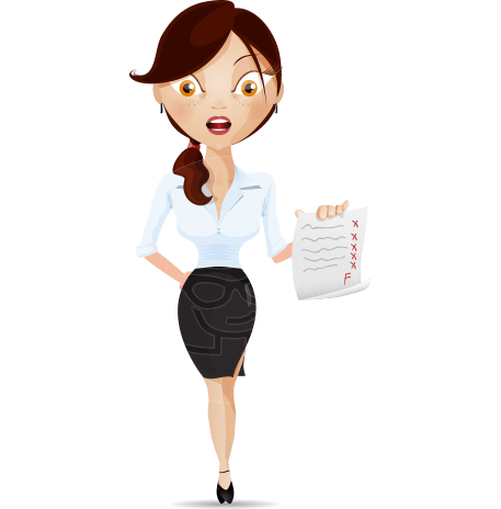Teacher Cartoon Vector Character