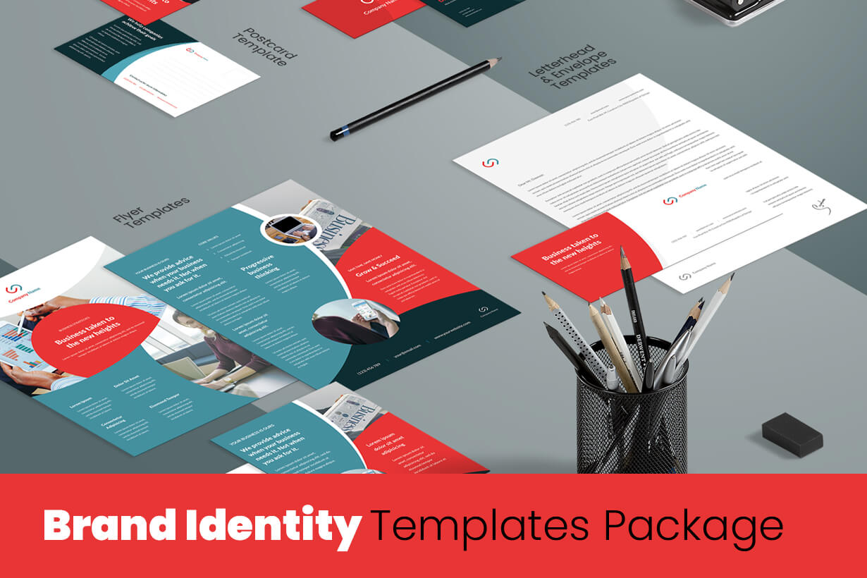 Business Brand Identity Templates Package