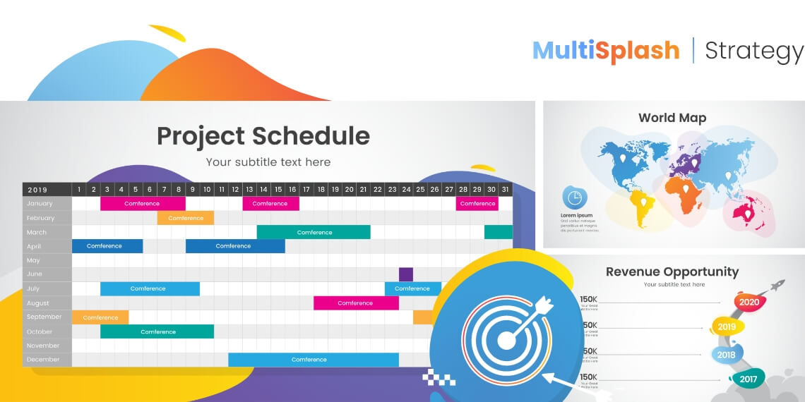 MultiSplash - Strategy Presentation Templates for PowerPoint and Google Slides