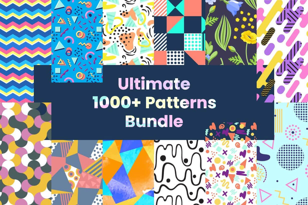 Seamless Pattern Designs Mega Bundle