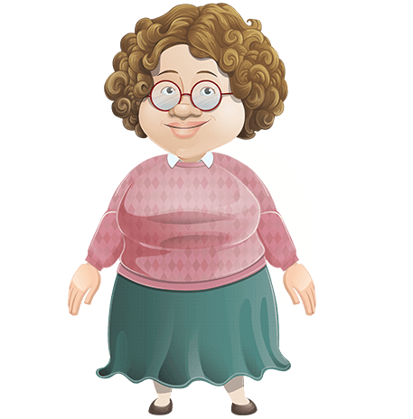 Friendly School Teacher Character Animator Puppet