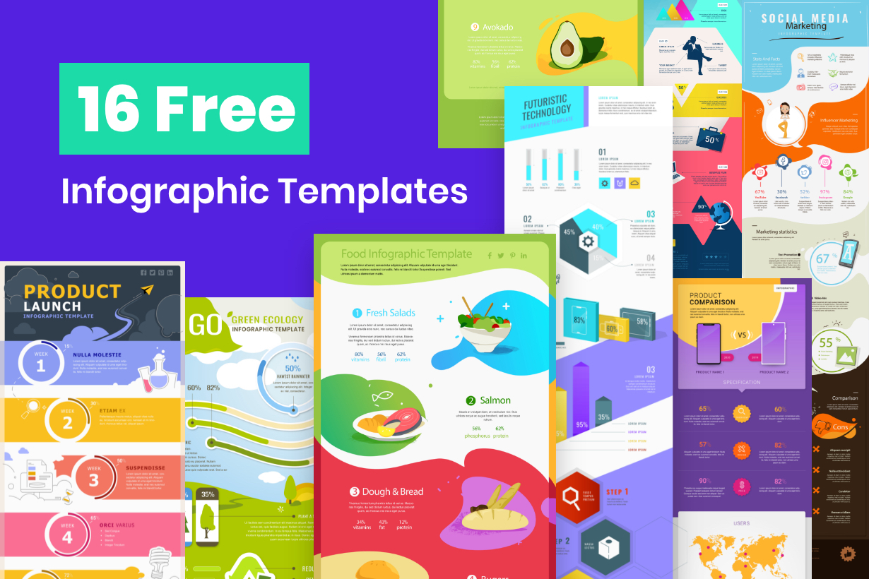 16 Free Infographic Templates