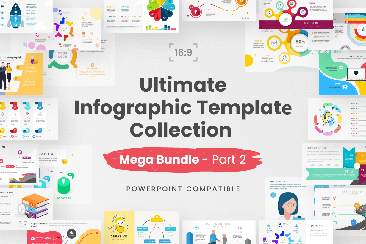 Ultimate Infographic Template Collection - Mega Bundle Part 2
