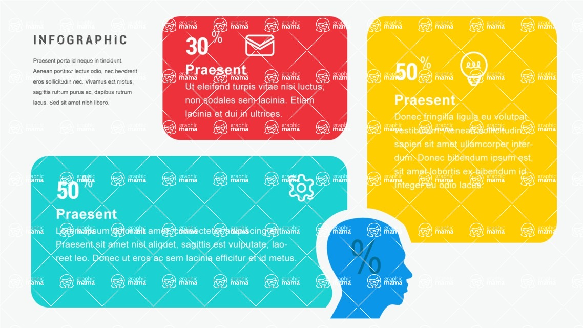 Infographic Templates Collection - Vector, Photoshop, PowerPoint, Google Slides - Human Research Infographic Template
