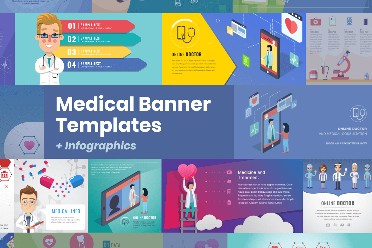 Medical Banner Design Templates