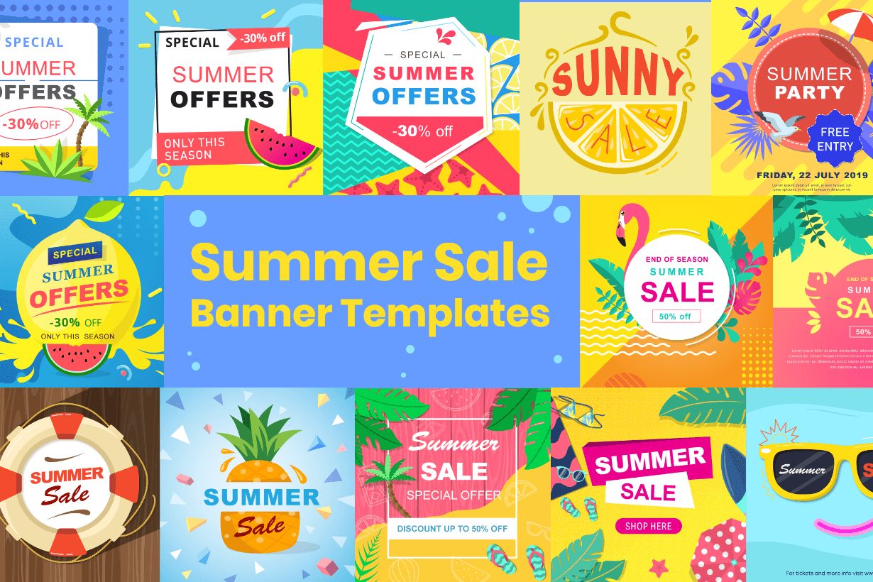 Summer Sale Banner Templates